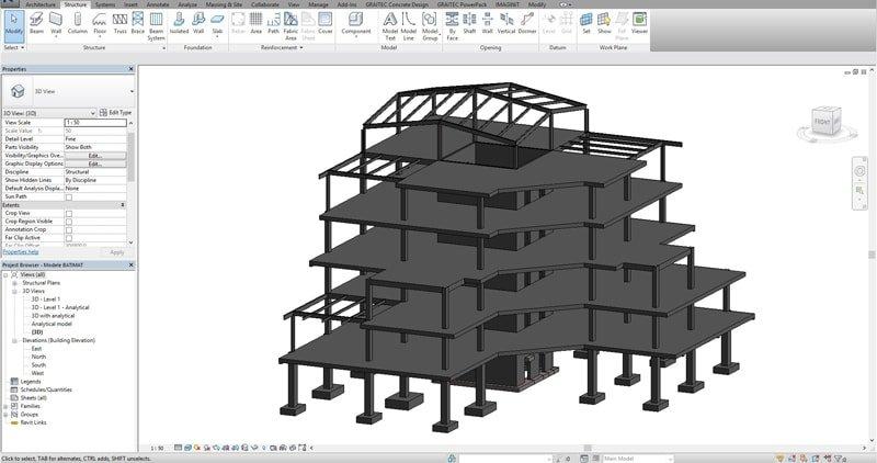 Structural Concrete Bim Workflow